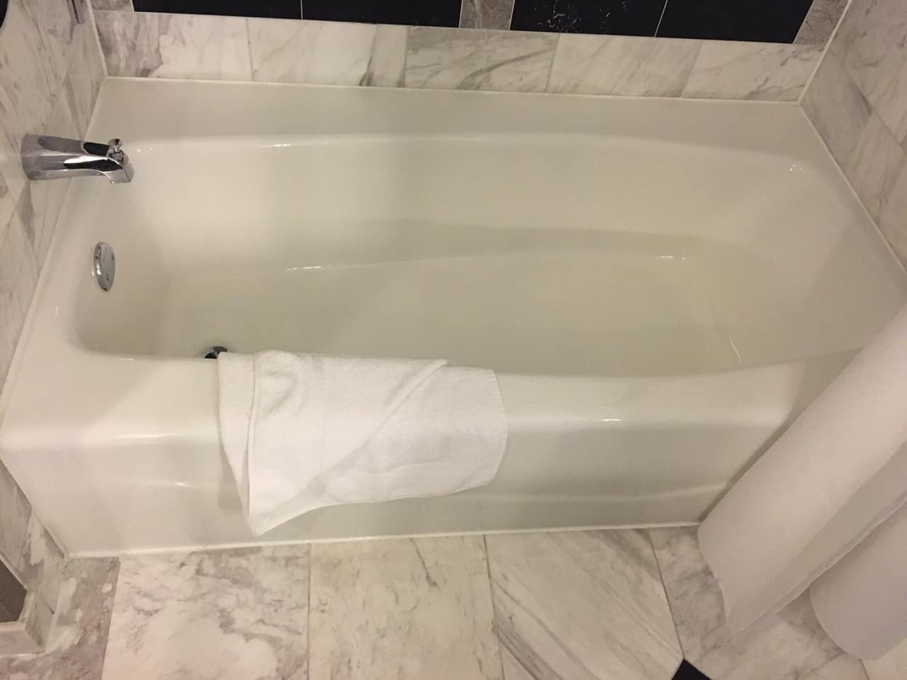 See Our Hotel Bathroom Refinishing Work | Safe Step