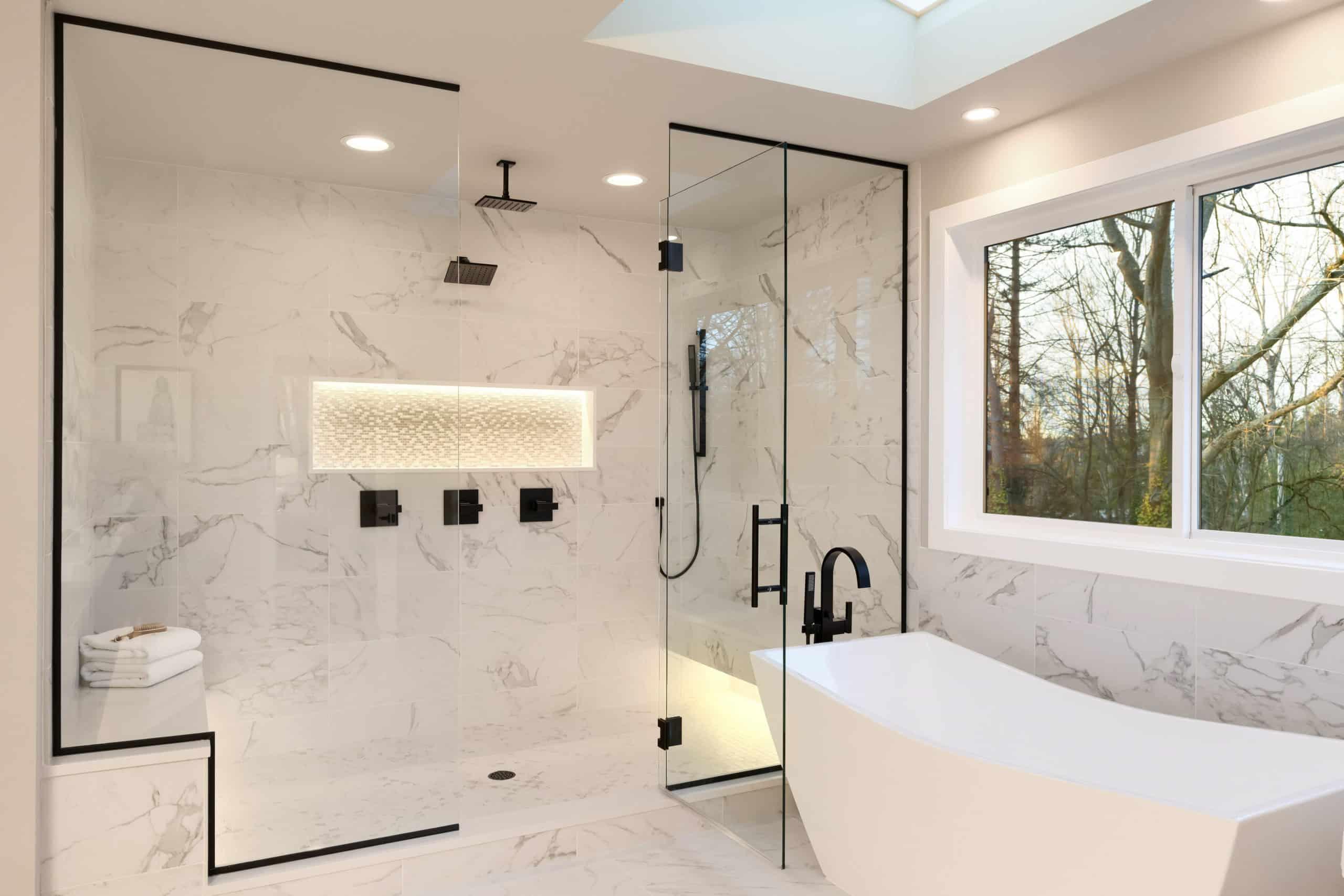 Anti Slip Treatment in hotel shower